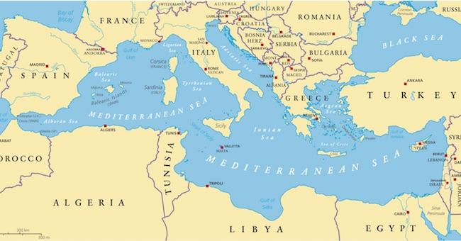 Cartina Paesi Mediterraneo.Mediterraneo Quanto Inquinano Le Grandi Citta Studio Lo Rivela Reloader Italia
