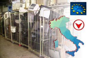 RAEE ITALIA 2017 BOLLINO ROSSO UE